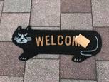 強気の黒猫